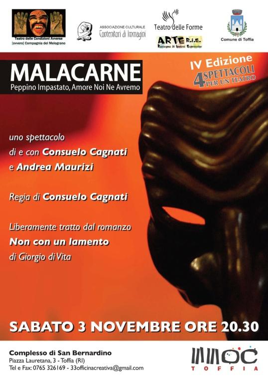 Malacarne poster